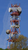 移动电话的电话信号 repeter — 图库照片