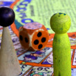 Постер, плакат: Snakes and ladders with giant nut