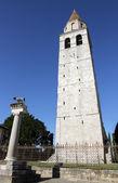 Historische hohe glockenturm der stadt aquileia 2 — Stockfoto