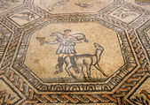 Mosaic of the good shepherd in the historic church of AQUILEIA — Stock Photo