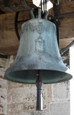 Bronze Bell in the Bell Tower of the Church — Stock Photo
