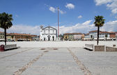 Church in the town square of PALMANOVA in friuli venezia giulia  — Stock Photo