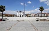 Church in the town square of PALMANOVA in friuli venezia giulia  — Stock Photo