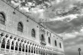 Ducal Palace on the Piazza San Marco in Venice — Stock Photo