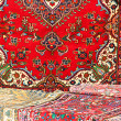 Colorful and beautiful Oriental rugs in pure Virgin wool 1 — Stock Photo