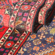 Colorful and beautiful rugs in pure wool for sale 6 — Stock Photo