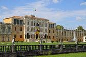 Majestic entrance of the fabulous villa Contarini in Piazzola su — Stock Photo