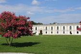 Nice garden of fabulous villa Contarini in Piazzola sul Brenta i — Stock Photo