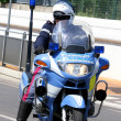 Police motorcycles and the policeman — Stock Photo #51569613