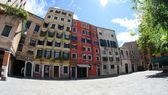 Jewish ghetto in Venice in Italy — Stock Photo