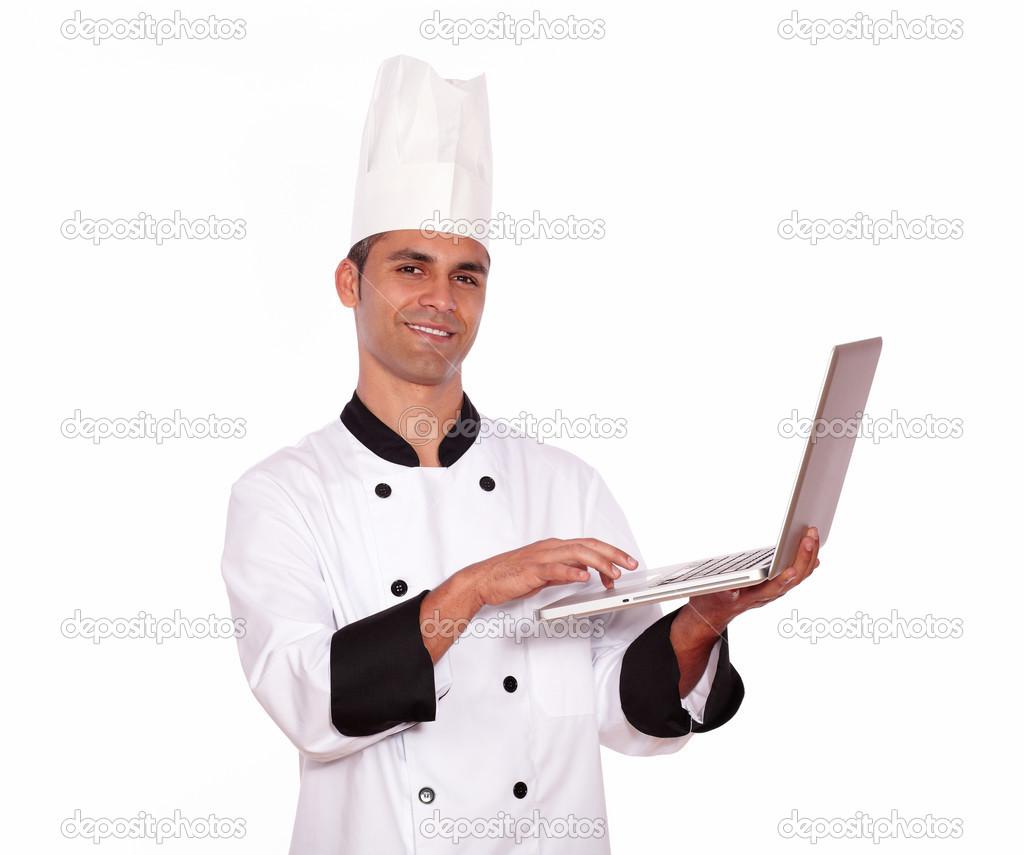 знакомтесь наш шеф повар