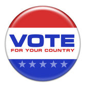 Vote for your country — Stock Photo
