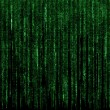 Green digital code numbers in matrix style — Stock Photo #45222127