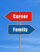 Career or Family — Stock Photo