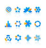 Logo design elements — Stock Vector