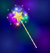 Magic wand — Stock Vector