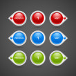 Pagination buttons — Stockvector #30718789