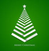 Simple Christmas tree — Stock Vector