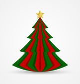 Christmas tree — Vetor de Stock