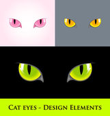 Cat eyes — Stock Vector