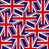 British seamless pattern — Stock Vector