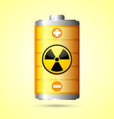 Nuclear energy icon — Stock Vector