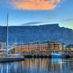 V&A Waterfront & Boats — Stock Photo