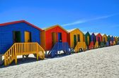 Muizenberg & Colors — Stock Photo