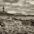 Lighthouse & Cape Agulhas — Stock Photo