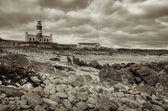 Lighthouse & Cape Agulhas — Stockfoto