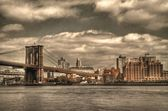Brooklyn Bridge Monotone — Stock Photo