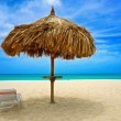 Aruba & Blue Sky — Stock Photo