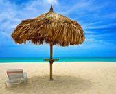 Aruba & Blue Sky — Stock Photo