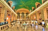 Grand Central Station & Lights — Stock Photo