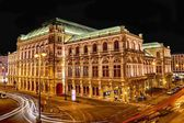 Vienna Opera & Lights — Stock Photo