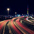 Stock Photo: Auckland & Trail Lights