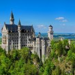 Neuschwanstein Castle & Blue Sky — Stock Photo #42228513