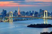 Tokyo & Sunset — Stock Photo