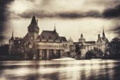 Vajdahunyad Castle & Old Style — Stock Photo