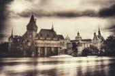 Vajdahunyad Castle & Old Style — Stock Photo
