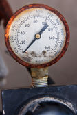 Old manometer gauge — Stock Photo