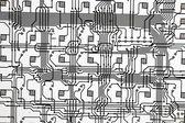 电子方式 — 图库照片