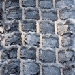 Stock Photo: Winter tires pattern