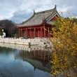 Chinese Red Pavilion — Stock Photo #9032018