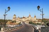 Fortress in kamyanets podilskiy ukraine — Stock Photo