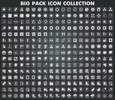 Collection of universal icons and symbols for web and mobile, vector — 图库矢量图片