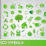 Eco symbols, vector — Vecteur