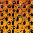 Vector de stock : Halloween wallpaper