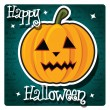 Halloween card — Stock Vector #40281225