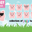 Piggy banks — Stock Vector #40285995